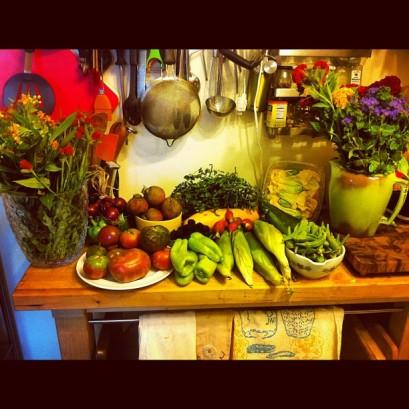 A summer greenmarket bounty