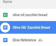 elise zucchini bread